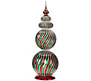 29 Oversized Swirl Design Finial by Valerie - H206886