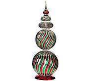 29 Oversized Swirl Design Finial by Valerie - H206886