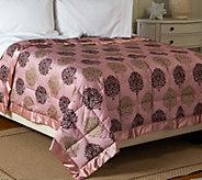 Northern Nights Laurel 300TC Cotton 650FP Reversible Twin Down Blanket - H207586