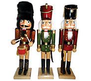Set of 3 Nutcrackers by Santas Workshop - H285186