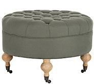Clara Round Ottoman by Safavieh - H285386