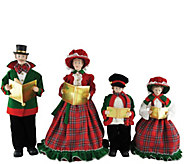 15 to 19 Set of 4 Christmas Day Carolers by Santas Workshop - H288986