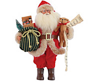 15 Old Fashioned Toy Delivery Santa by SantasWorkshop - H290086