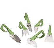 Vertex NaturalGrip 6 Piece Master Gardeners Tool Set - H294986