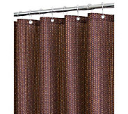 Watershed 2-in-1 Bamboo Basket 72x72 Shower Curtain - H356886