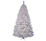 7-1/2 White Sparkle Spruce Tree w/ Dura-Lit Lights - H364086