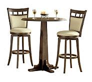 Hillsdale Furniture Dynamic Designs 3-Pc Pub Set-Brown Cherry - H159387