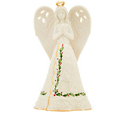 Lenox Porcelain Holiday Figural Angel Bell - H205387