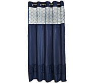 Hookless Downtown Soho 3 in 1 Shower Curtain - H205587