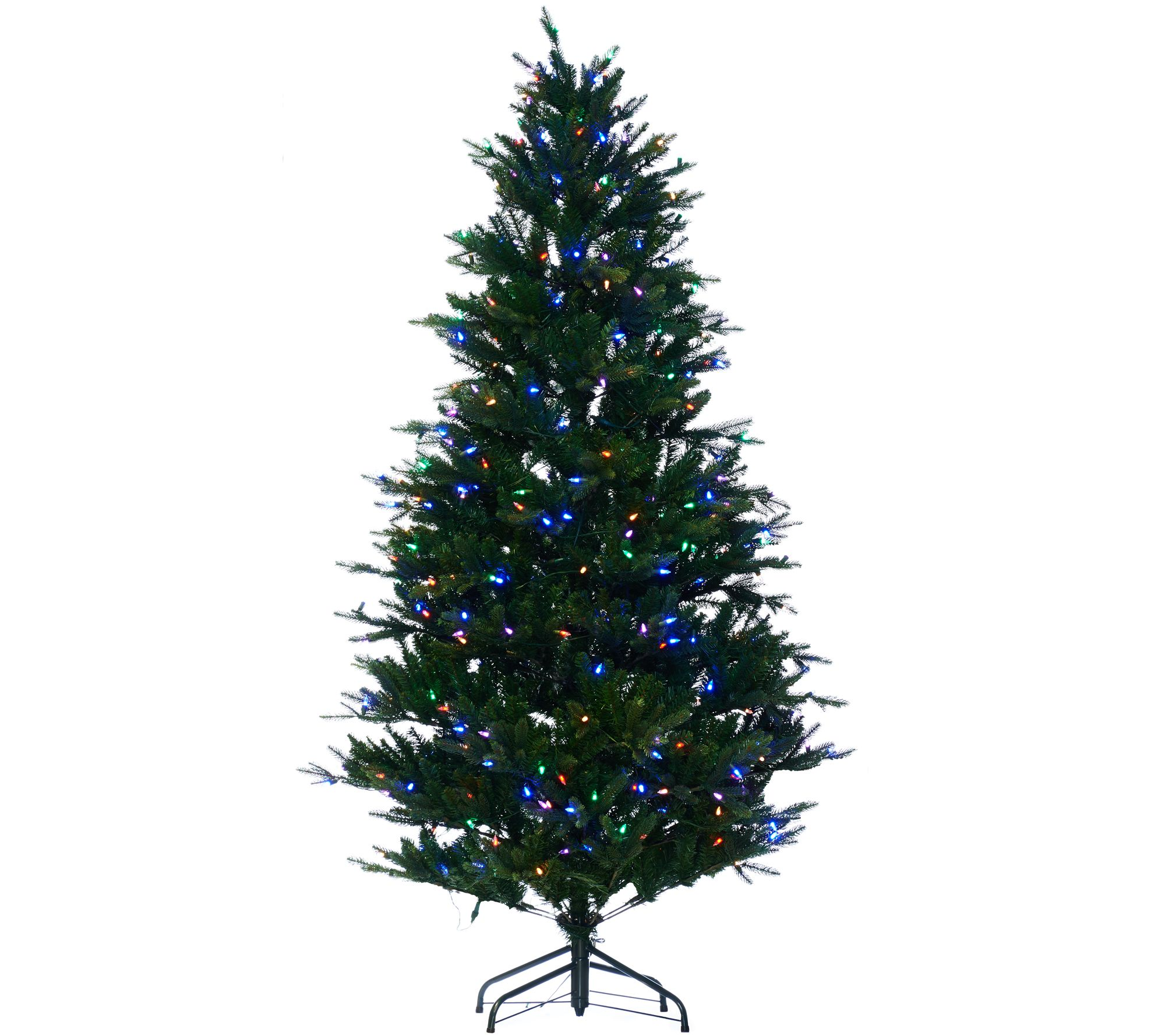 Santa's Best 6.5' RGB 2.0 Green Balsam Fir Christmas Tree - Page 1 ...