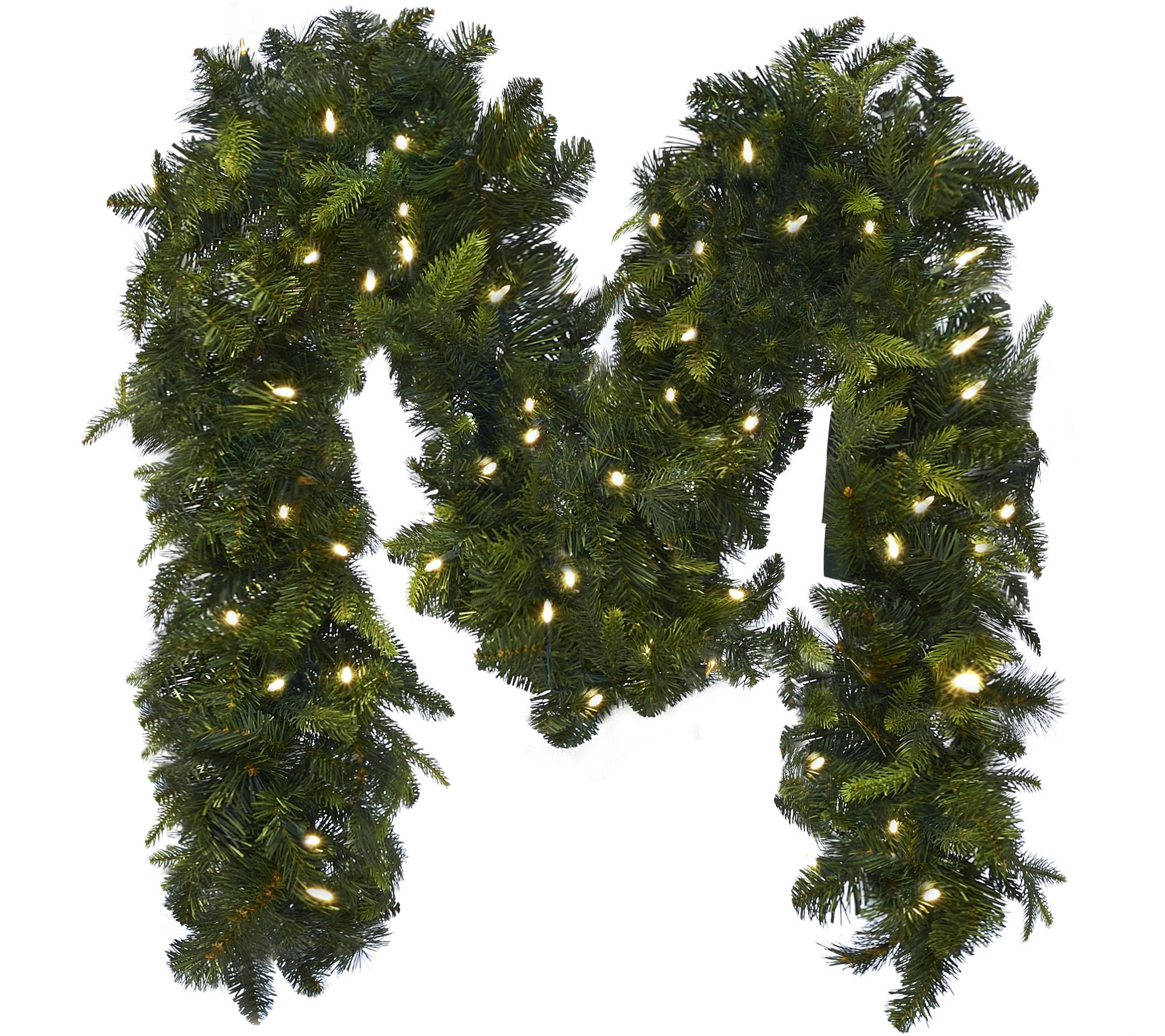 Bethlehem lights wreath battery operated -  As Is Bethlehemlights 9 Mixed Greens Prelit Holiday Garland H210476