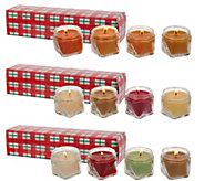 As Is 12-piece 1.65 oz. Candle Sampler by Valerie - H211087