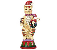 Jim Shore Heartwood Creek Cat Nutcracker Figurine - H281487