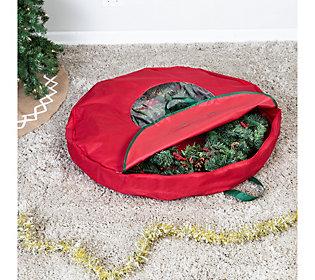 "Honey-Can-Do 36"" Canvas Wreath Storage Bag"