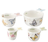 Lenox Butterfly Meadow Set of 4 Measuring Cups - H288487
