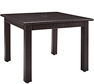 Palm Harbor Outdoor Wicker 42 Square Dining Table - H288587