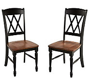 Home Styles Set of 2 Monarch Dining Chairs - H366487