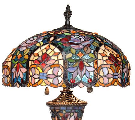 lamp tiffany contemporary wonderful lighting images awesome qvc supplies decor lamps