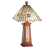 Tiffany Style 25-1/2H Pendulum Accent Lamp - H181288