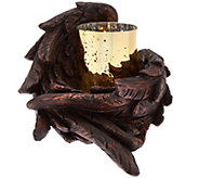 Angel Wing Flameless Candle by Home Reflections - H208588