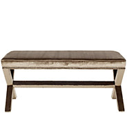 Melanie Extended Bench with Nailhead Details bySafavieh - H285388