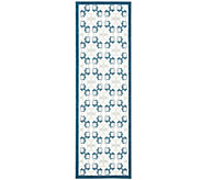 Enhance Geometric 26 x 8 Rug by Nourison - H286288