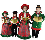 27 to 37 Set of 4 Christmas Day Carolers by Santas Worksho - H288988