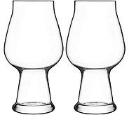 Luigi Bormioli Birrateque Set of Two 20.25-oz Stout Glasses - H291588