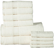 Casa Platino 10-Piece Cotton Towel Set - H294888