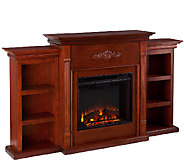 Gilmore Electric Fireplace with Bookcases - H157889