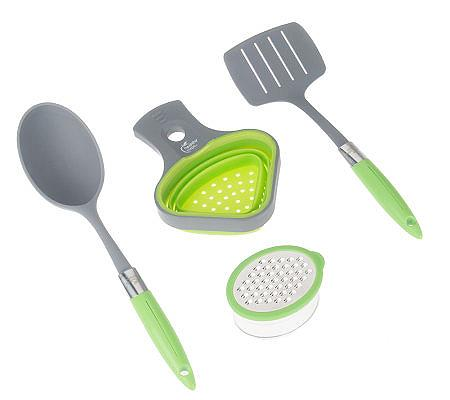 Healthy Portions 4-Piece Set by Lori Greiner — QVC.com
