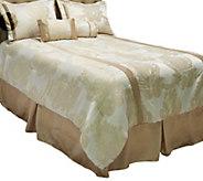 Bob Mackie Home Opulence Full 6-Piece Paisley Jacquard Comforter Set - H202489
