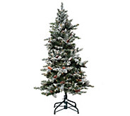 Bethlehem Lights 5 Woodland Pine Christmas Tree w/Instant Power - H209389