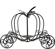 Metal Pumpkin Carriage by Valerie - H211489