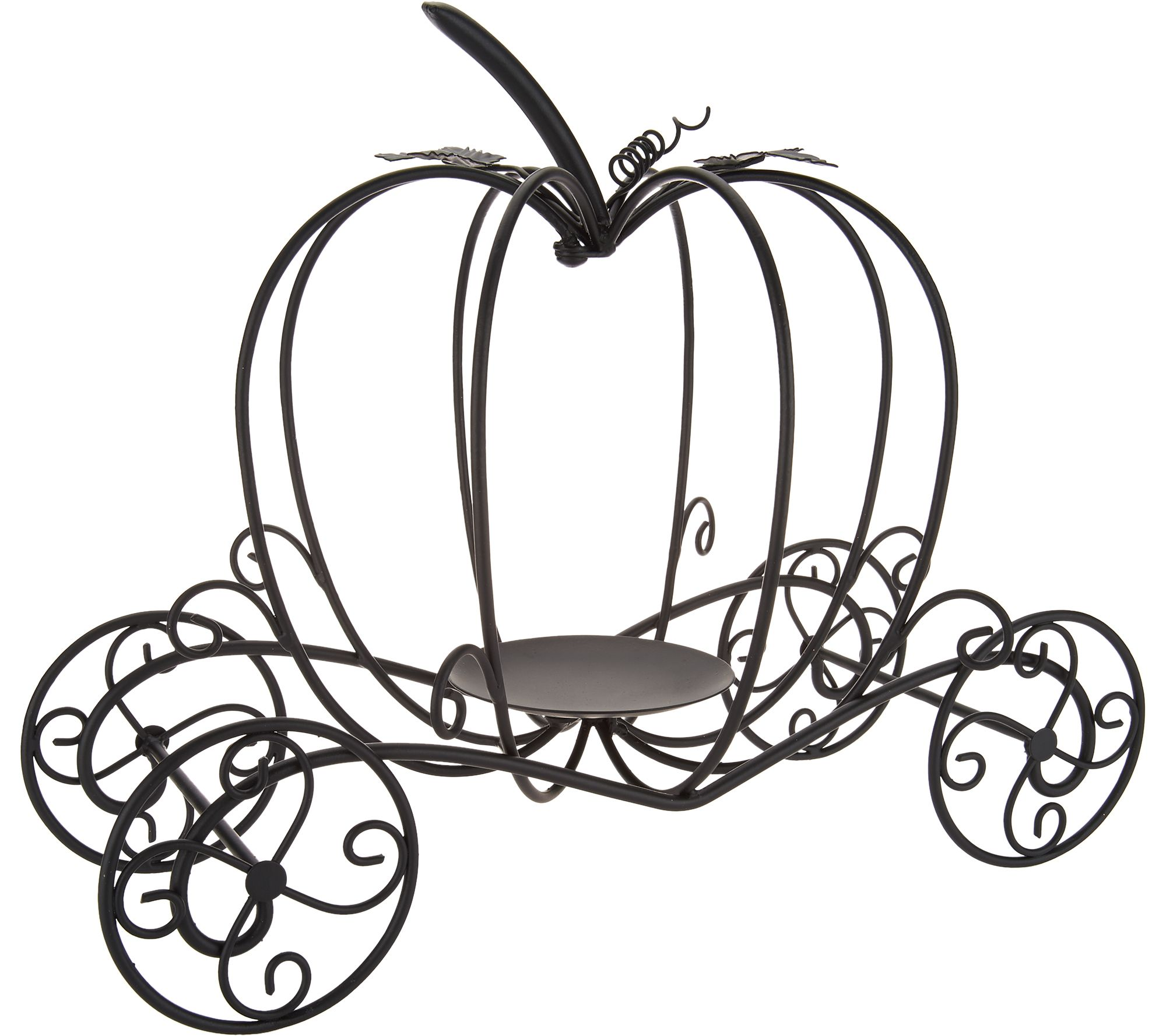 Metal Pumpkin Carriage by Valerie - Page 1 — QVC.com