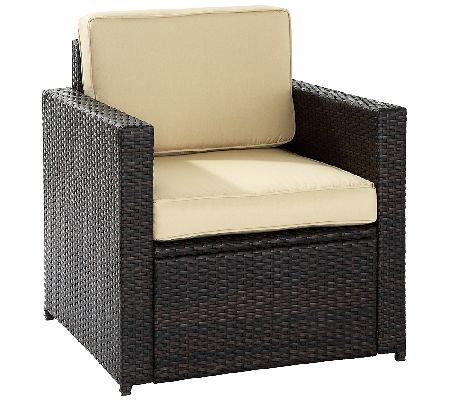 Crosley Palm Harbor Outdoor Wicker Chair Page 1