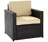 Crosley Palm Harbor Outdoor Wicker Chair - H282889
