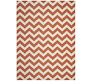 Safavieh 8 x 11 Horizontal Zigzag Indoor/Outdoor Rug - H283089
