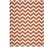 Safavieh 8 x 11 Horizontal Zigzag Indoor/Outdoor Rug - H283089