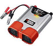 Black and Decker 800-Watt Power Inverter w/ 2 A C Outlets - H286589