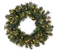 36 Prelit Modesto Mixed Pine Wreath by Vickerman - H287689