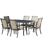 Cosco Serene Ridge 7-Piece Aluminum Dining Set - H289089
