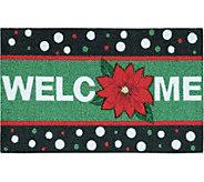 Nourison Enhance 17 x 28 Christmas Welcome Rug - H293089