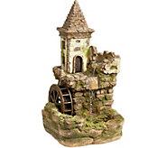 Design Toscano Fairy Village Waterwheel Sculptural Fountain - H293789