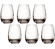 Luigi Bormioli 15.5-oz Ametista Beverage Glasses - Set of 6 - H364789