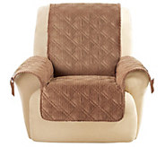 Sure Fit Corduroy Recliner Furniture Cover - H202790