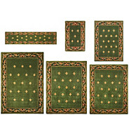 Royal Palace Special Edition Fleur de Lis Wool Rug - H207290