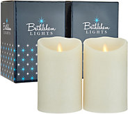 Bethlehem Lights Touch Candle Set of (2) 5 Candles in Gift Boxes - H211290