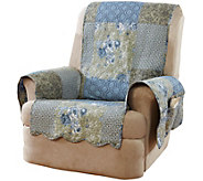 Sure Fit Heirloom Printed Patchwork Recliner Cover - H211690