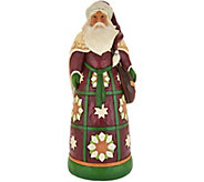 Jim Shore Heartwood Creek Oversized Santa with Satchel Statue - H211990